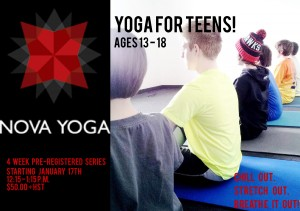 Yoga for Teens - Flyer